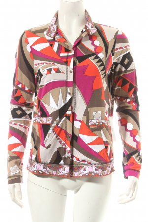Riani Blusenjacke grafisches Muster Street-Fashion-Look