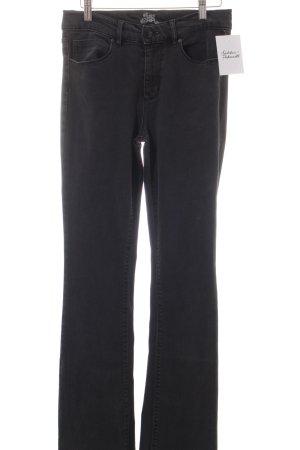 Riani Boot Cut Jeans dunkelgrau 70ies-Stil