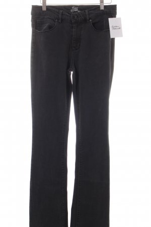 Riani Boot Cut Jeans dark grey '70s style