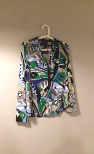 RIANI Designer Bluse Hemd Etro Print Muster 38 40 42 M L