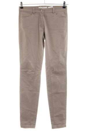 Riani Pantalon cinq poches blanc cassé style décontracté