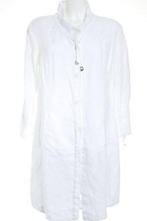 Riani Hemdblusenkleid weiß schlichter Stil