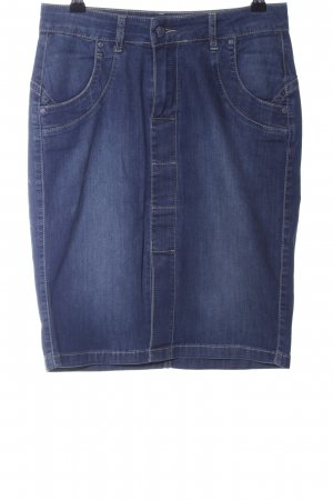 Riani Jeansrock blau Casual-Look
