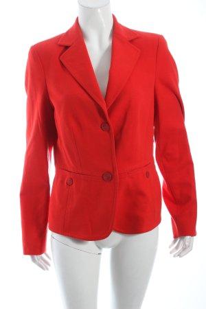 Riani Jerseyblazer rot schlichter Stil