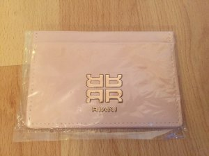 Riani Card Case pink-silver-colored