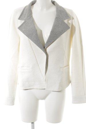 Riani Kurz-Blazer weiß-grau Casual-Look