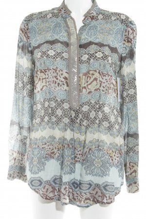 Riani Langarm-Bluse grafisches Muster Casual-Look