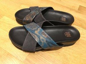 Riani Leder Sandalen Größe 37 nagelneu ungetragen