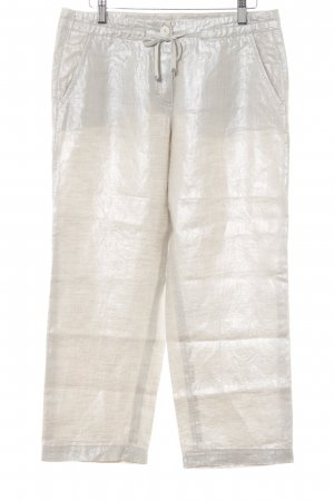 Riani Linen Pants silver-colored casual look
