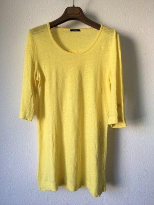 Riani Leinenshirt T-Shirt gelb 36