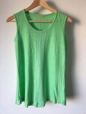 Riani Leinentop Top Tanktop 34 grün hellgrün