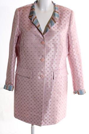 Riani Long-Blazer pink Allover-Druck Elegant