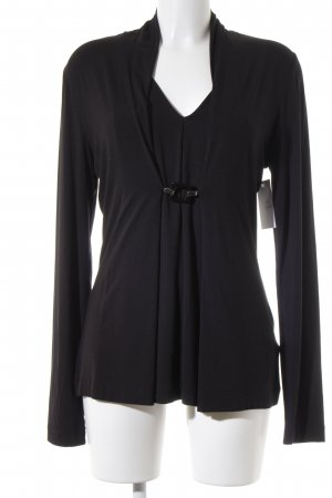 Riani Longshirt schwarz schlichter Stil