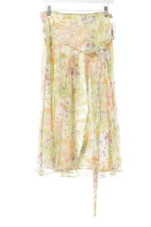 Riani Midirock florales Muster extravaganter Stil