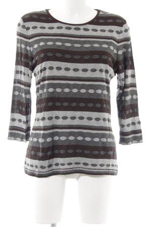 Riani Gestreept shirt gestippeld patroon casual uitstraling