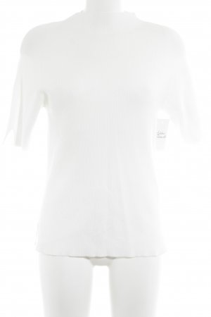 Riani Ribbed Shirt natural white elegant