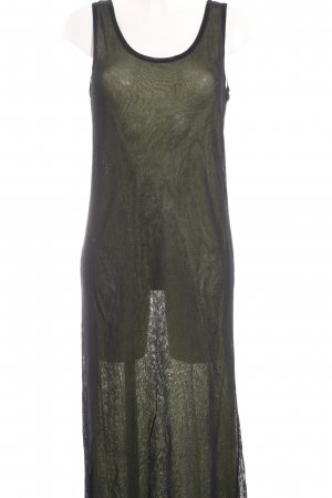 Riani Tube Dress black-meadow green athletic style