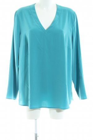 Riani Schlupf-Bluse blau Casual-Look
