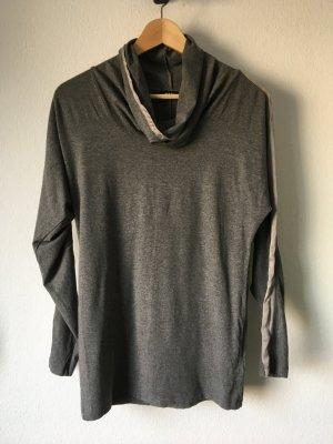 Riani Shirt Oberteil Viskose Jersey Seide 34 grau