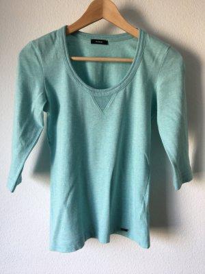 Riani Shirt T-Shirt 3/4 Arm blau babyblau Baumwolle 34