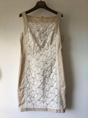 Riani Spitzenkleid beige weiß 36 festliches Kleid