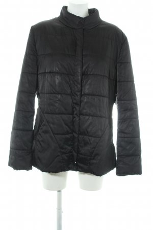 Riani Quilted Jacket black casual look
