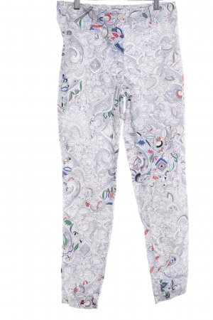 Riani Stoffhose florales Muster extravaganter Stil