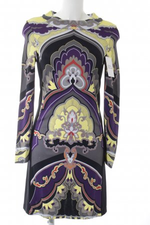 Riani Stretch Dress floral pattern extravagant style