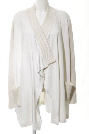 Riani Gebreide jas wit casual uitstraling