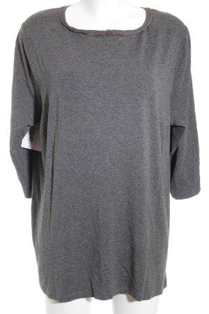 Riani Strickshirt silberfarben-grau Casual-Look