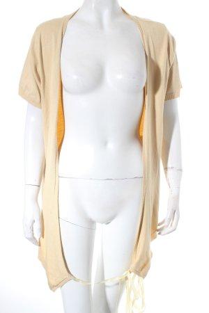 Riani Cache-cœur en tricot jaune foncé Aspect enroulé