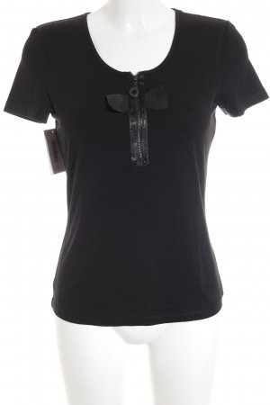 Riani T-Shirt schwarz Casual-Look