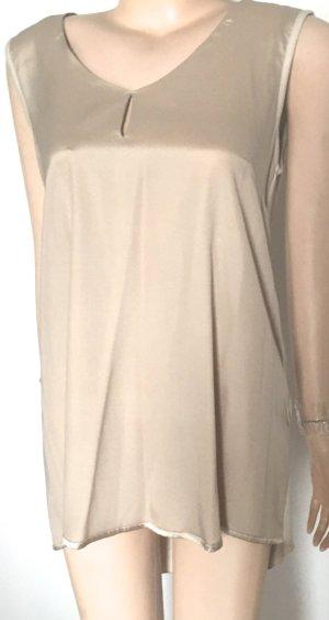 Riani A-lijn top beige Gemengd weefsel