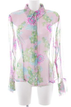 Riani Transparenz-Bluse Blumenmuster Elegant