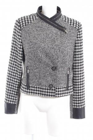 Riani Tweedblazer schwarz-wollweiß Casual-Look