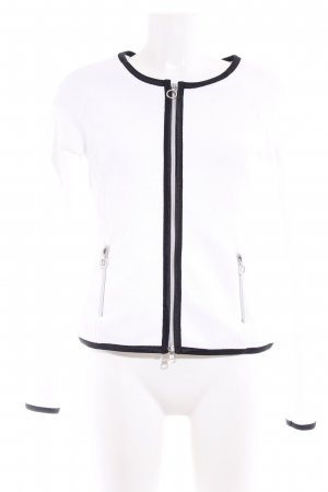 Riani Übergangsjacke weiß-schwarz Casual-Look