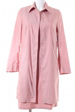 Riani Woven Twin Set pink wet-look