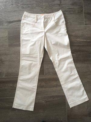 Riani Pantalone a 7/8 bianco sporco