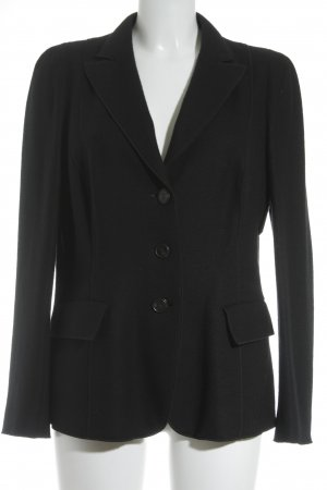Riani Blazer de lana negro estilo «business»