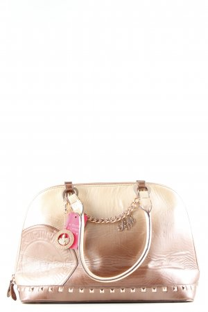 Ricarda M Bowling Bag gold-colored color gradient wet-look