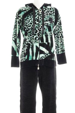 Ricarda M Leisure suit animal pattern '90s style