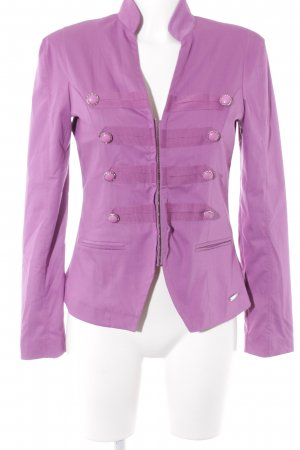 Ricarda M Kurz-Blazer violett extravaganter Stil