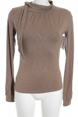 Ricarda M Longsleeve camel Business-Look