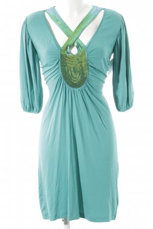 Ricarda M Midi Dress turquoise casual look
