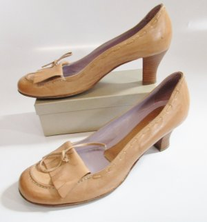 Ricardo Cartillone High-Front Pumps multicolored leather