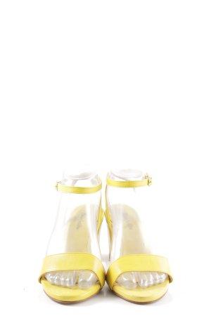 Ricardo Cartillone Riemchen-Sandaletten blassgelb Casual-Look