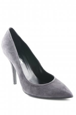 Ricardo Cartillone Spitz-Pumps grau Business-Look