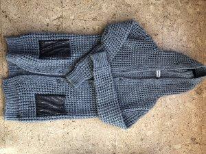 Rich & Royal Manteau en laine gris foncé-gris