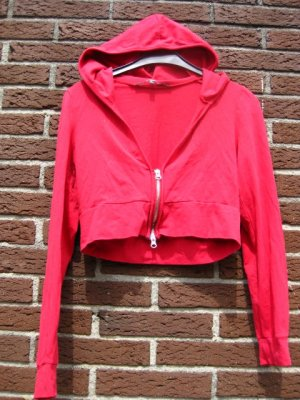 no name Veste chemise rouge coton