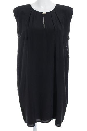 Rich & Royal A-Linien Kleid schwarz Elegant